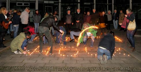 Earth Hour 2017 Emmendingen